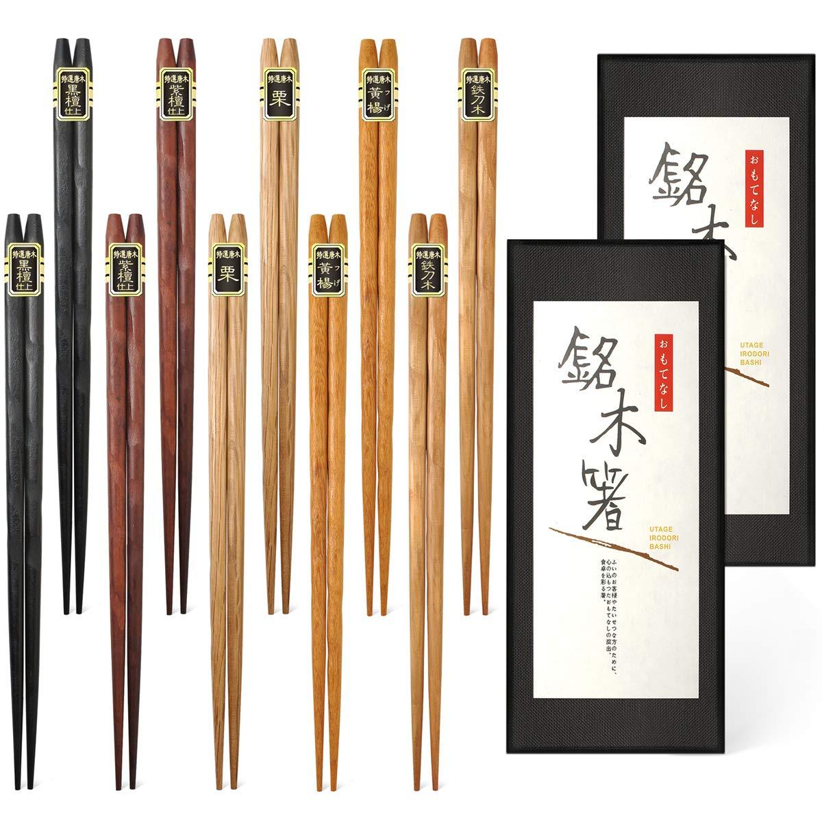 palillos de japon bambú
