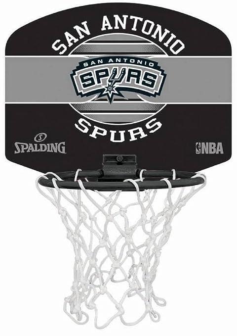 Spalding NBA Team Mini Tarjeta Varios Equipos con Pelota, San ...