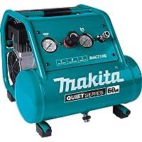 Makita MAC210Q Quiet Series, 1 HP, 2 Gallon, Oil-Free, Electric Air Compressor