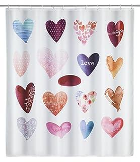 KLEINE WOLKE Duschvorhang Textil »Beachlife« 180 x 200 cm Multicolo TOPP Angebot