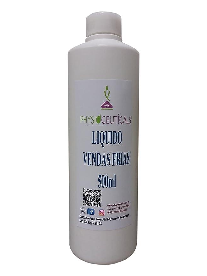 Líquido de Vendas Frias 500 ml (Fucus,Castaño de Indias, Alcanfor,Menthol)