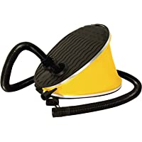 "Foot Pump Yellow/Black, 54"" Long Hose"