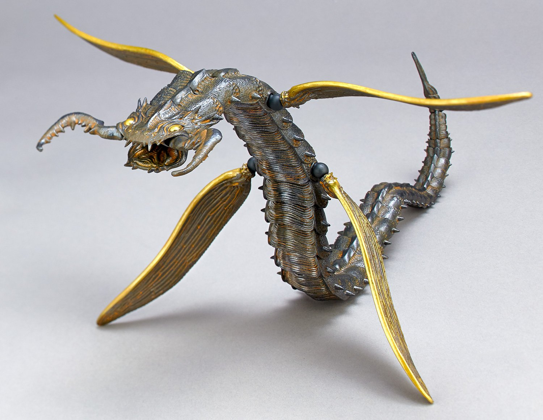 KAIYODO / 竹谷隆之 自在置物 KT-011 / 蛇螻蛄 鐵錆地調 / 宮崎駿 風之谷