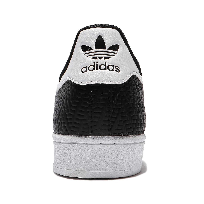 Adidas Originals Unisex-Erwachsene (Negbas Superstar Niedrig-Top Sneakers schwarz (Negbas Unisex-Erwachsene / Negbas / Ftwbla) 811956
