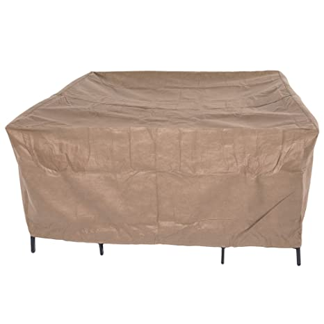 Duck Covers Essential Square Patio Table U0026 Chair Set Cover, Fits Outdoor  Square Patio Table