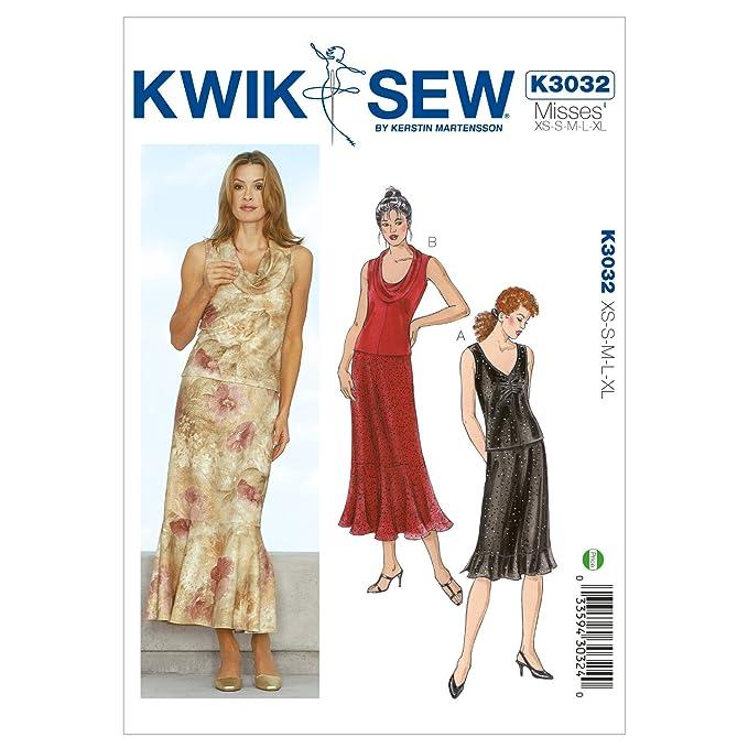 Kwik Sew Mustern K3032 Größe XS/Small/Medium/Large/Extra Große Tops ...