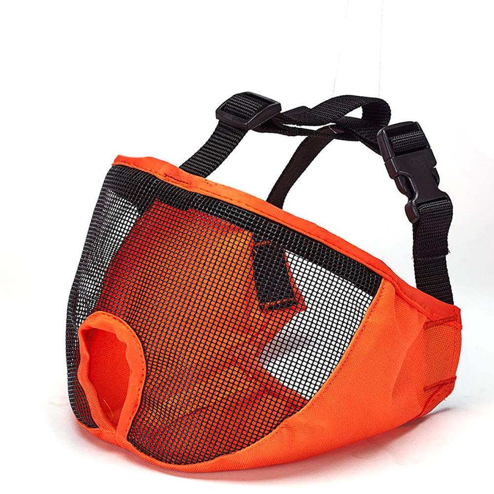 Xiton Bulldog Eye Mask Dog Muzzle Má scara de Boca Anti-ladridos para Perros (Gris) 1 Pieza