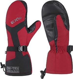 EXski Skihandschuhe Fäustlinge Ski Herren Damen Winter Snowboard Handschuhe Warm Winterhandschuhe Wasserdicht