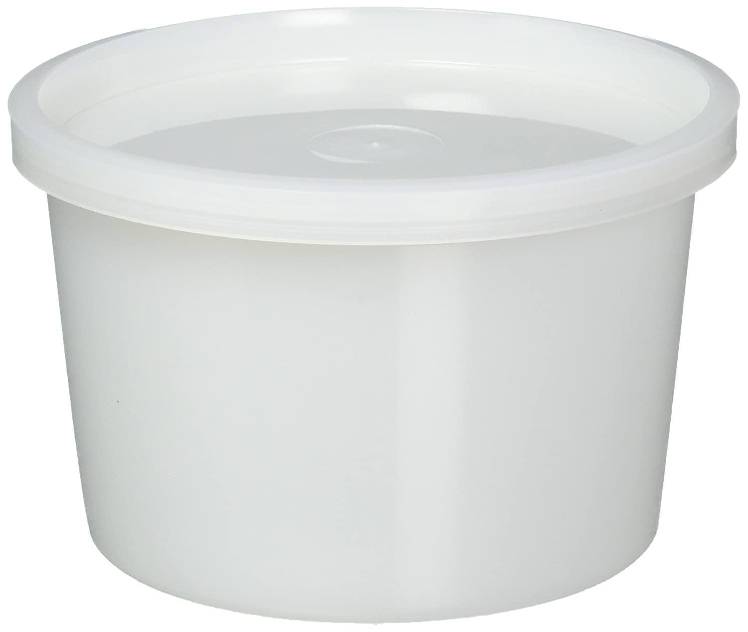 Vito's Famous Deli Container with Lid, 16 Ounce (Pack of 50) | Tight Seal | Freezer Safe