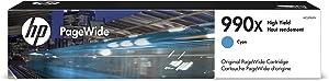 HP 990X   PageWide Cartridge High Yield   Cyan   M0J89AN