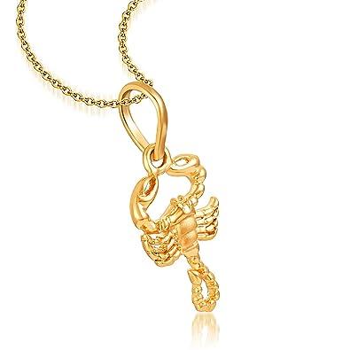 Buy 22kt hallmarked gold skorpiose sunsign scorpio pendant online at 22kt hallmarked gold skorpiose sunsign scorpio pendant mozeypictures Image collections