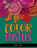 Color the Epistles: A Catholic Coloring Book Devotional: Catholic Bible Verse Coloring Book for Adults & Teens