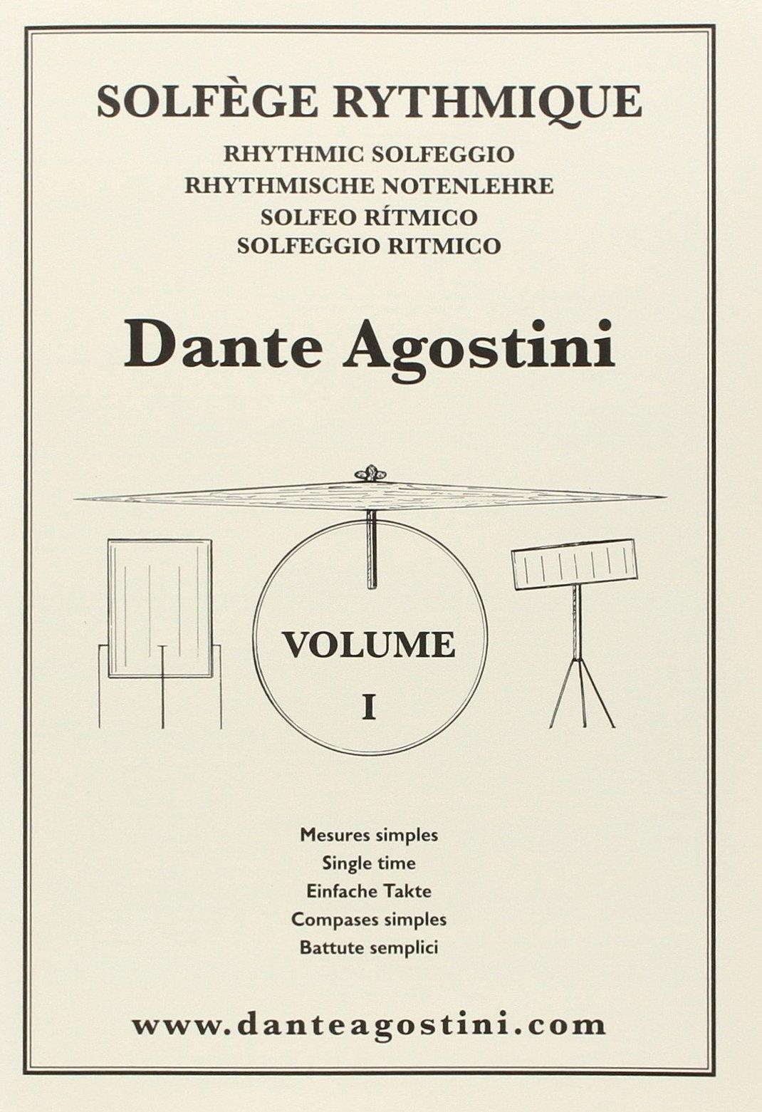 Solfege Rhythmique 1 - Einfache Takte. Schlagzeug