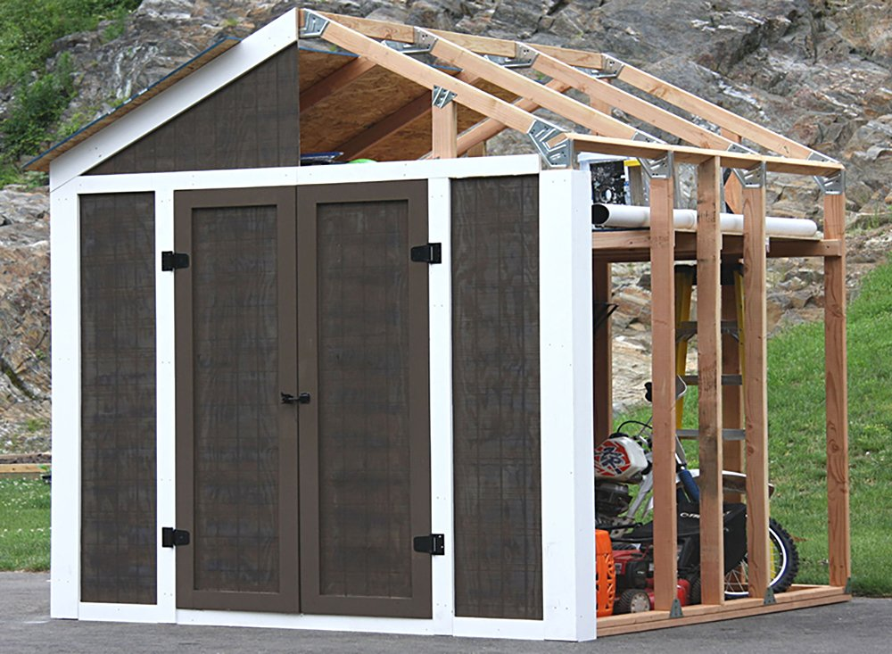 EZ Shed 70187 Peak Style Instant Framing Kit - 70187 < Storage Sheds ...