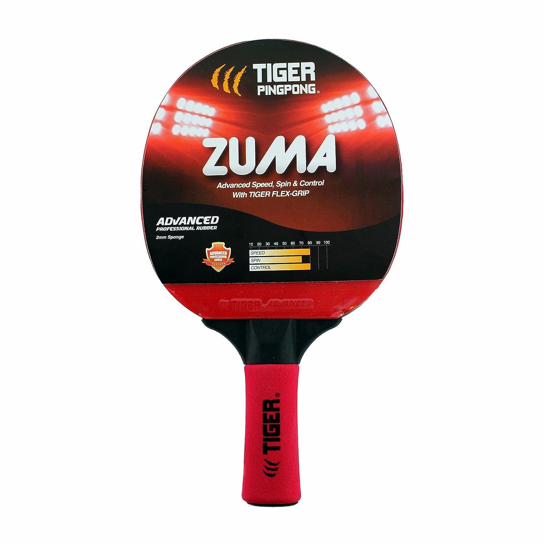 Tiger Ping Pong Zumaテーブルテニスラケット B0765BC6L2