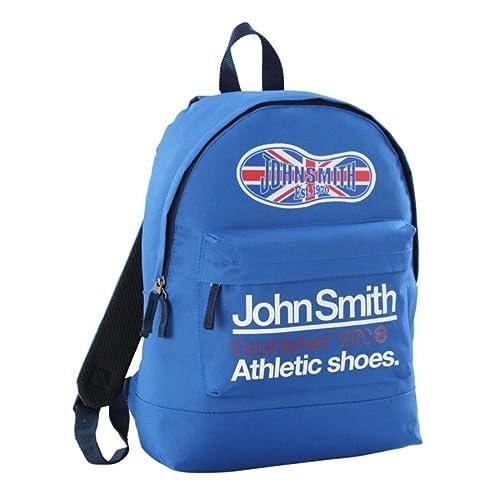 a1c98f164d2 John Smith Mochila M-17119 Azul Real Talla Unica  Amazon.es  Zapatos y  complementos