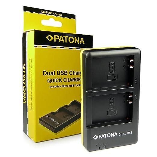 11 opinioni per PATONA Dual Caricabatteria PS-BLN1 con micro USB per Batteria Olympus OM-D | OMD
