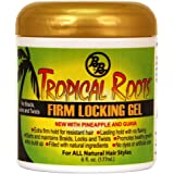 Bronner Brothers Tropical Roots Firm Locking Gel, 6 Fl Oz