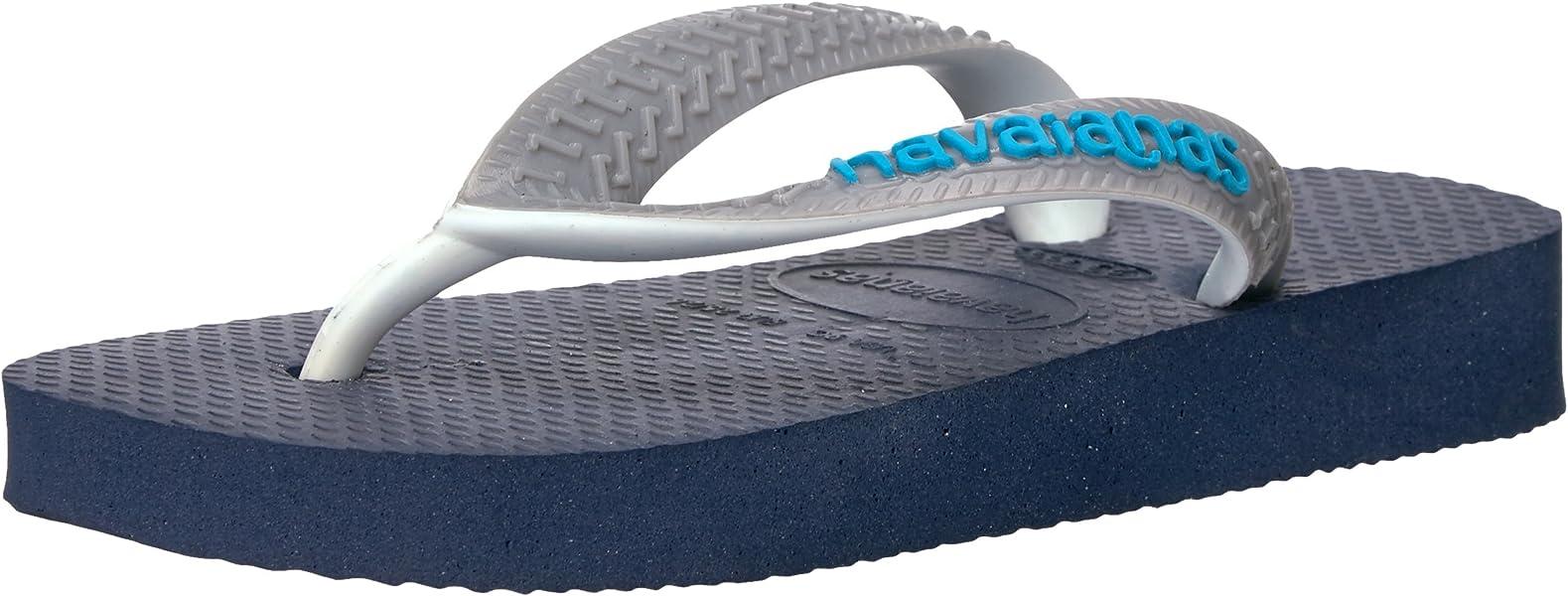 e0f7bee7b8ef Havaianas Kids  Top Mix Sandal Navy Blue Steel Grey Flip Flop