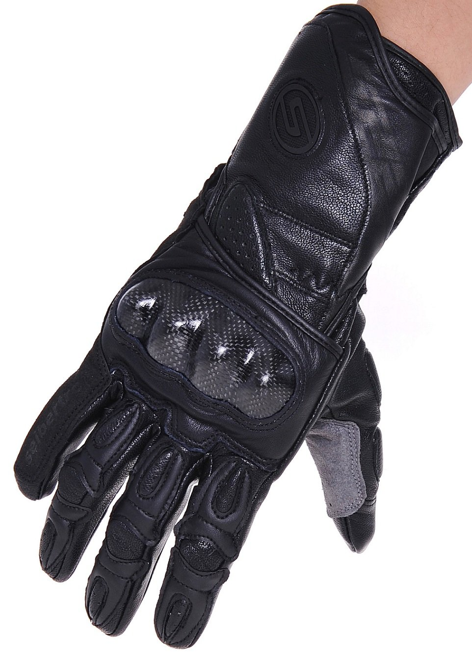 Seibertron SP2 SP-2 Mens Leather On-Road Motorcycle Gloves Genuine Leather Motocross Motobike Motorcycle Racing sports gloves