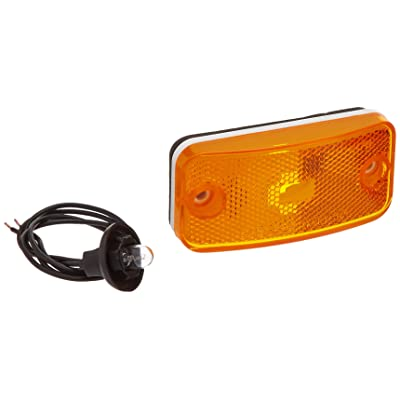 Bargman 34-17-809 #178 Series Amber Clearance/Side Marker Light: Automotive