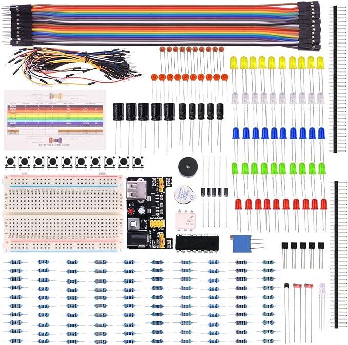 kuman Ventiladores Eléctricos Kit para Arduino,Raspberry Pi con ...
