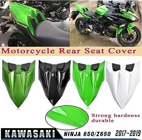 Areyourshop cubierta de carenado para asiento trasero de motocicleta ABS para Ka-wa-sa-ki Z650 Ninja 650 2017-2019