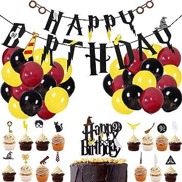 CNNIK 32 Piezas de decoración de Fiesta de cumpleaños para ...