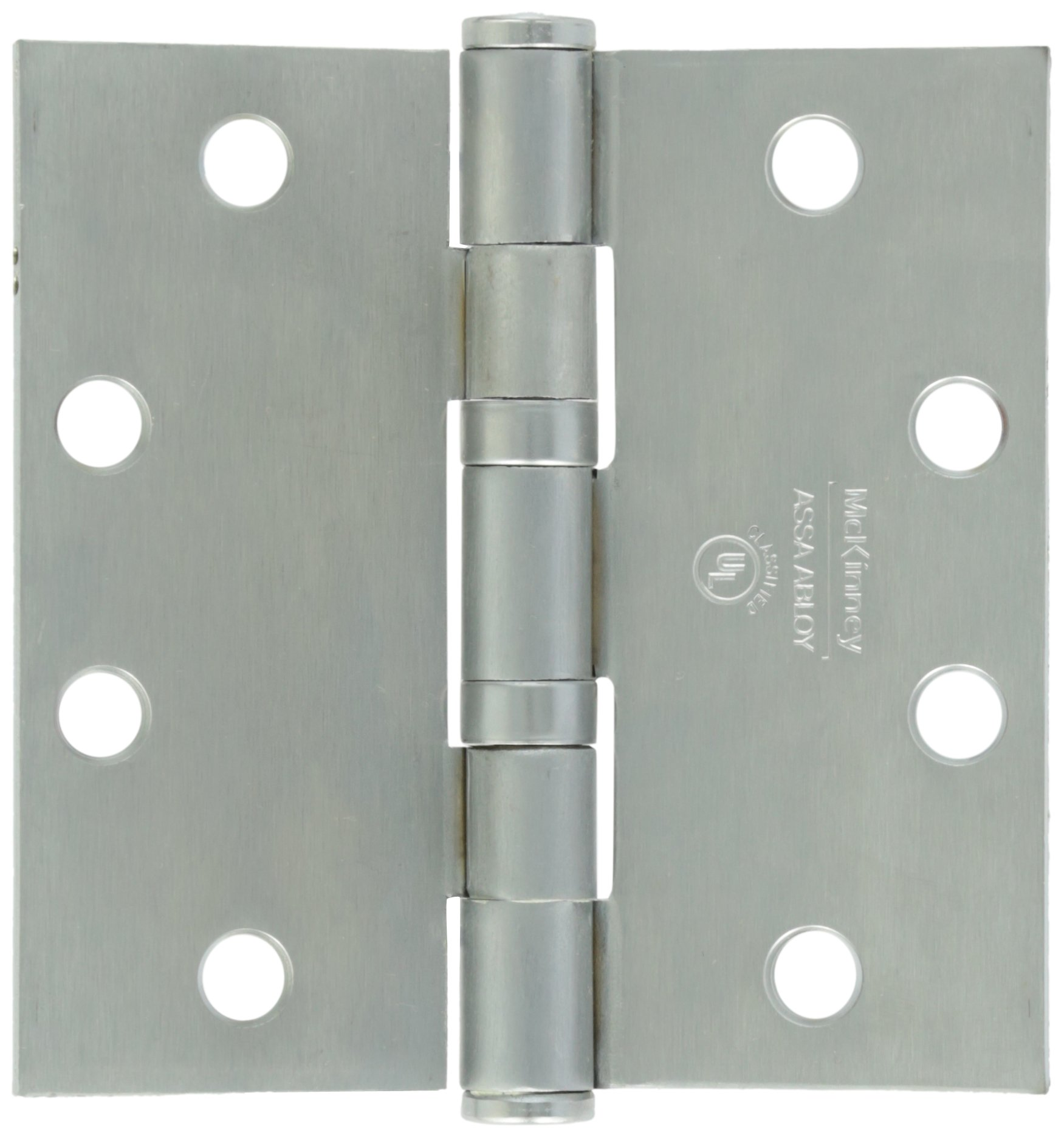 Securitron EH-45 Electrified Hinge, Stainless, 6 Wire, 4.5'' x 4.5''