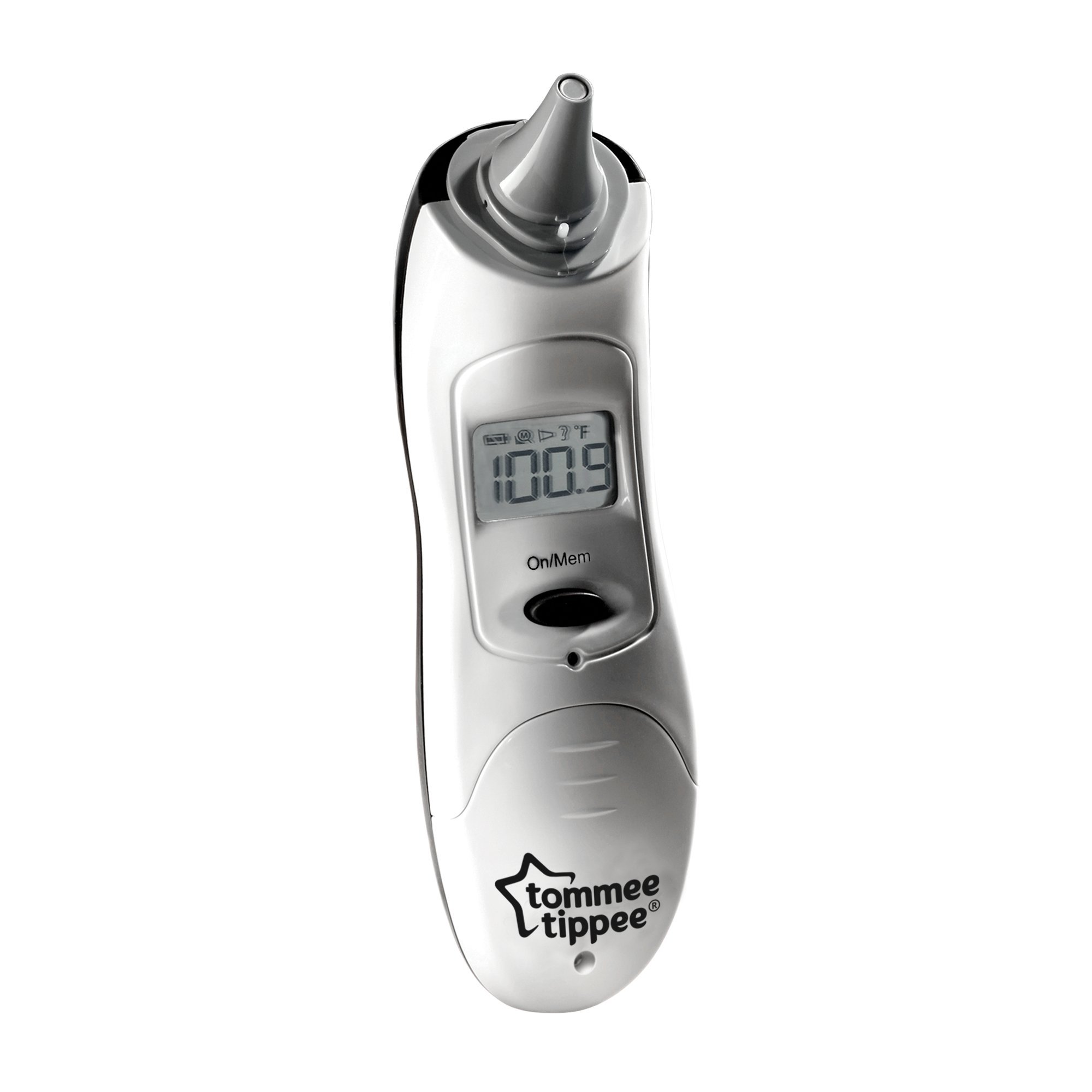 Tommee Tippee Digital, Easy Read & Non-Intrusive, Small Tip Ear Thermometer