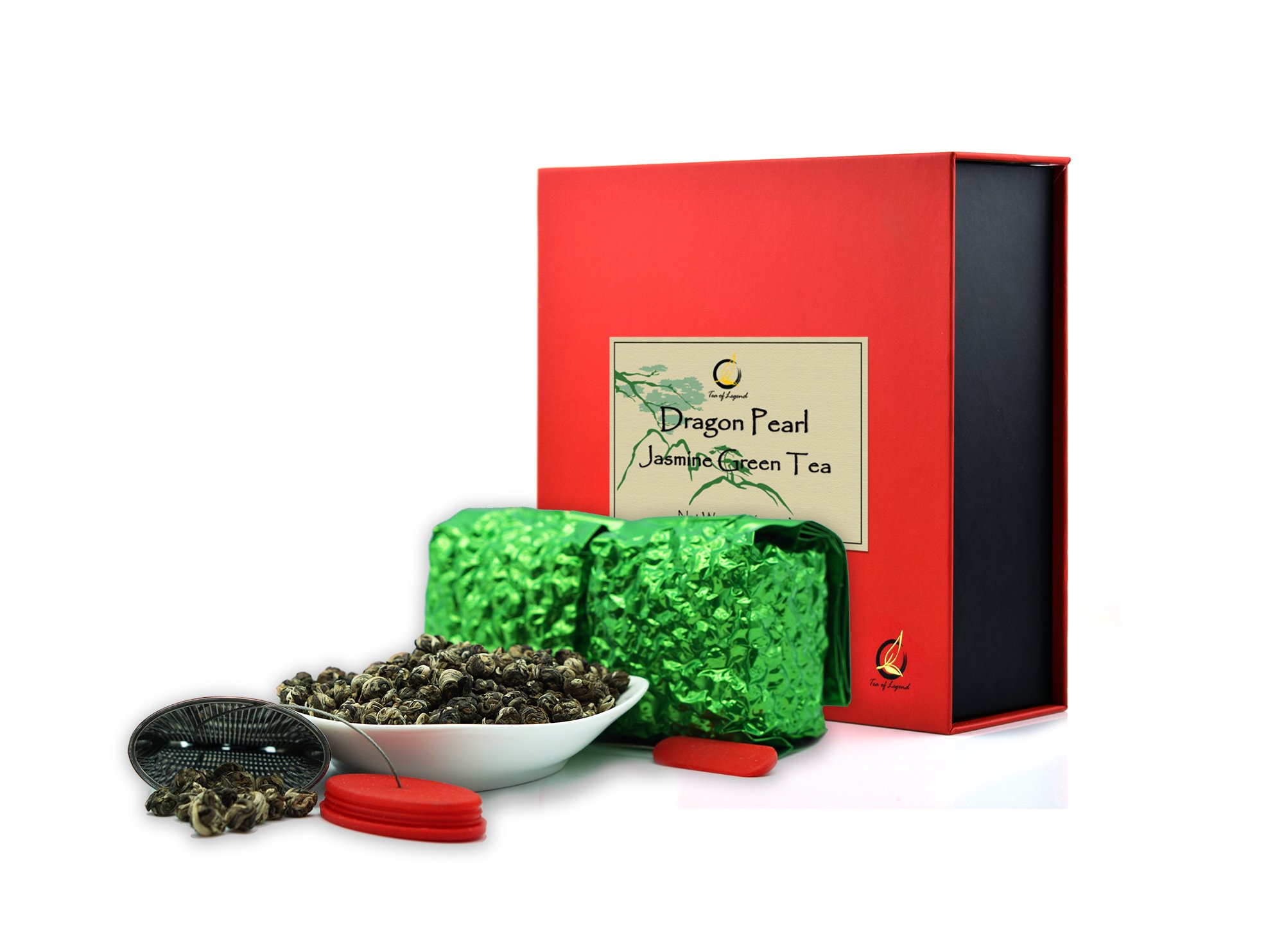 Premium Dragon Pearl Jasmine Tea Gift Set