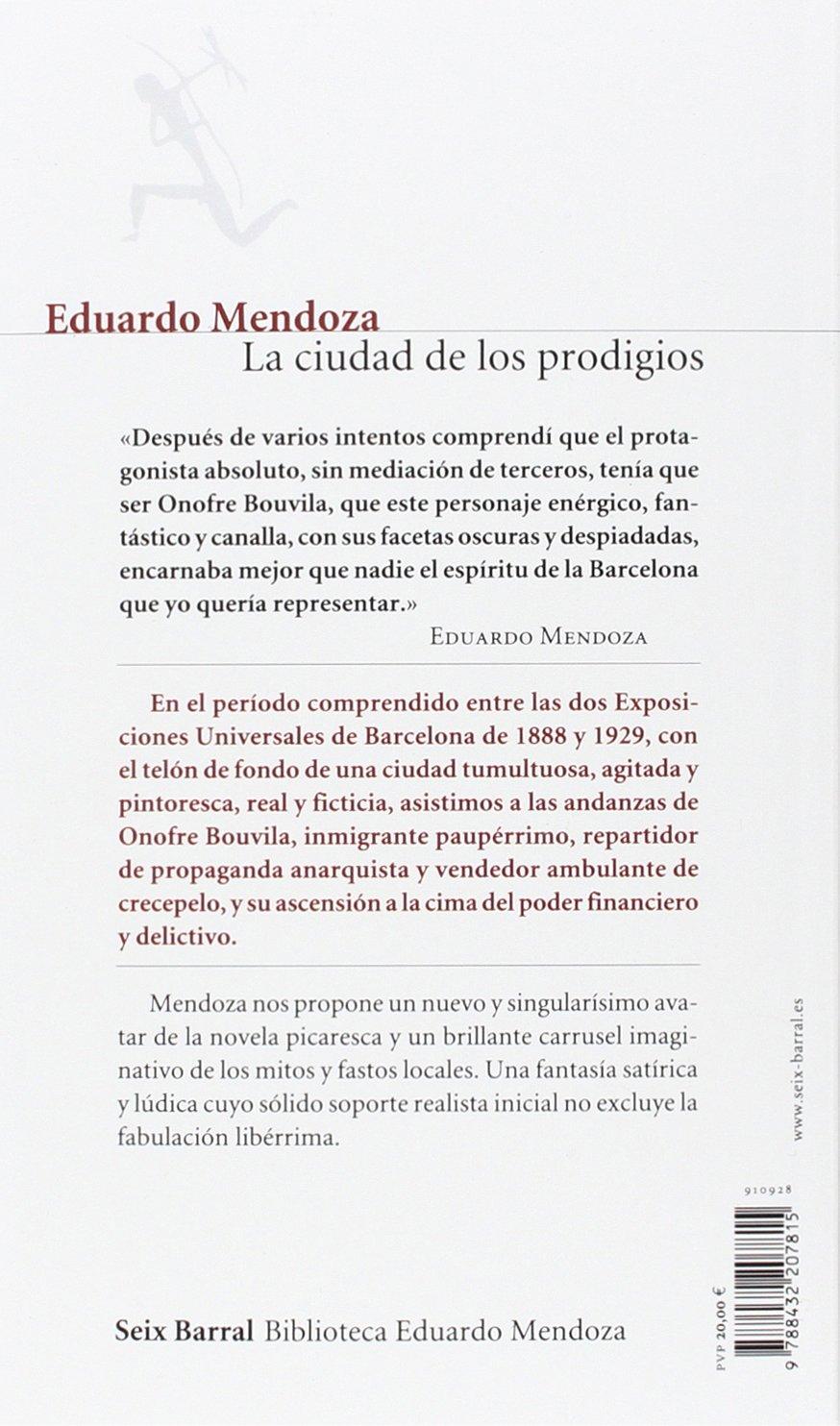 La ciudad de los prodigios (COL.BIBLIOTECA.BREVE): Amazon.es ...