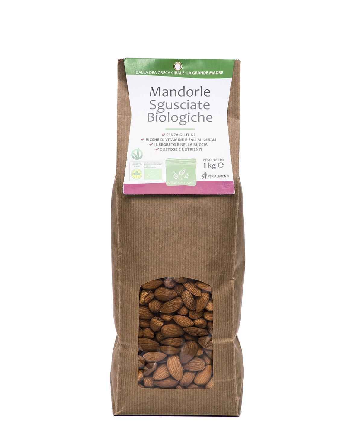 Almendras sin cáscara 1 Kg - Producido por agricoltura organica: Amazon.es: Alimentación y bebidas