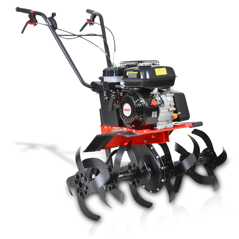 Hecht 790 Gartenhacke, Motorhacke mit bis zu 84cm Arbeitsbreite und 6,5 PS Motorleistung