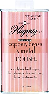 Hagerty Heavy Duty Metal Polish, for Copper, Brass, Chrome, Aluminium, Bronze, Stainless Steel