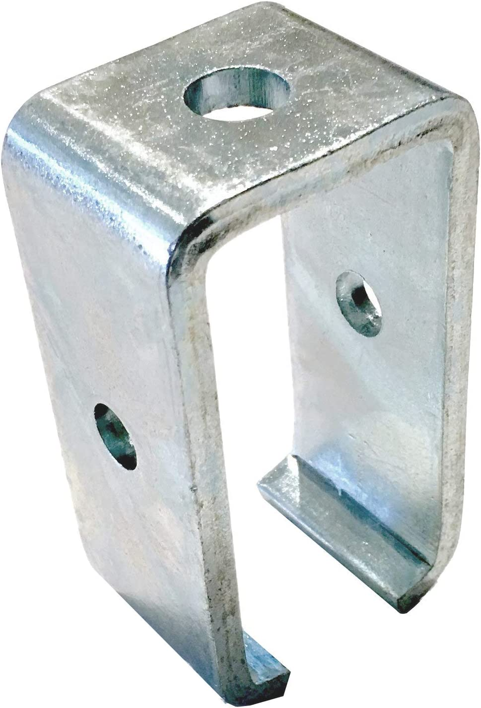 Trolley Beam Support Zinc Plated Electro Galvanized Steel Bracket for All 1-5//8 inch Strut Channels. Andustrial Steel 1 Piece