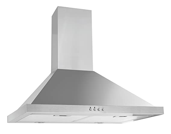 ancona pyramid with rim 600 cfm stainless steel wall mount range
