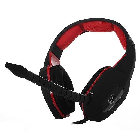 Cuffie per PS4 HAMSWAN Multifunzionale Wired Stereo Cuffia da Gioco Gaming  Cuffie Over Ear 6837502f878e