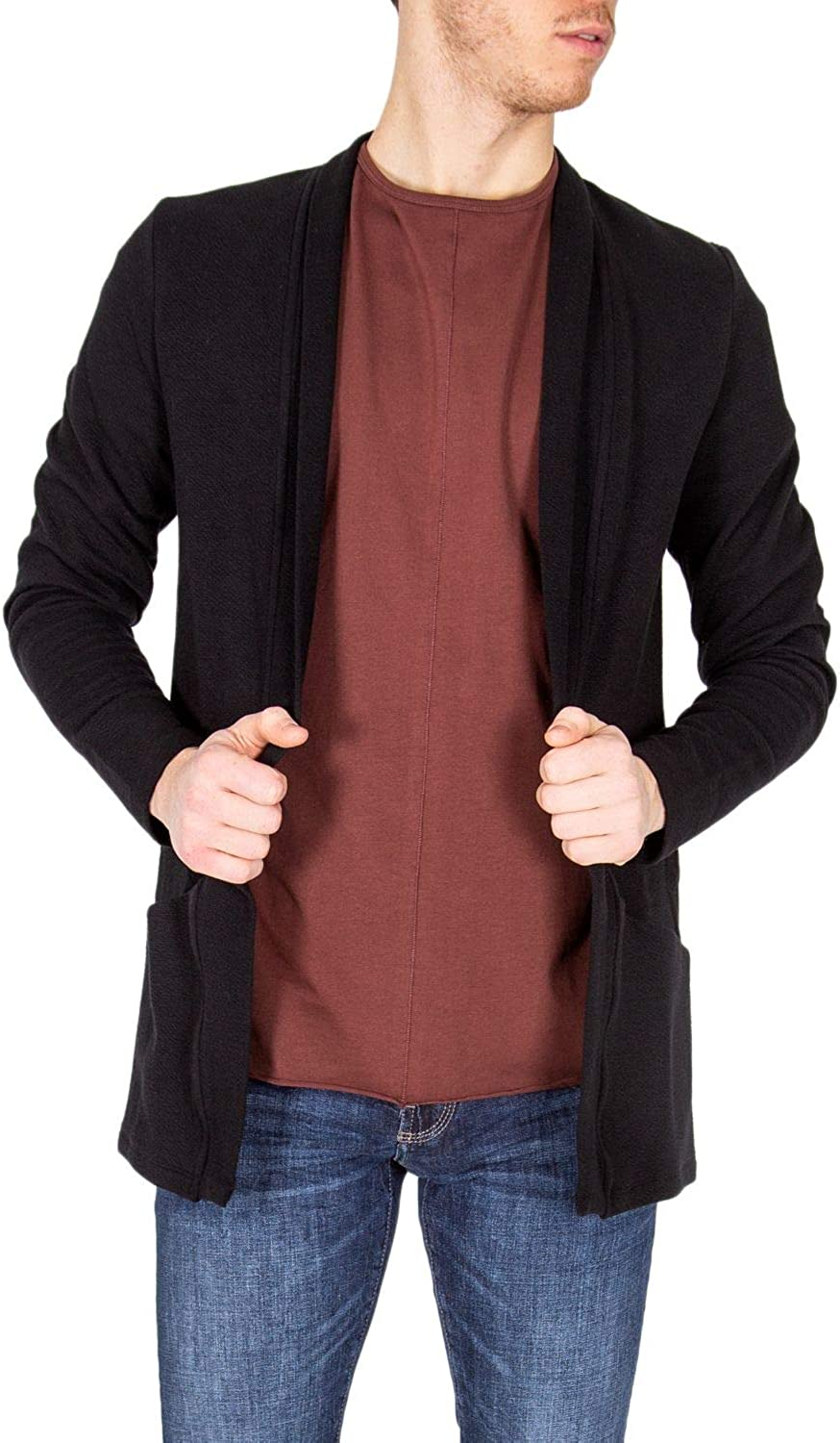 Season Outlet Antony Morato Luxury Fashion Mens MMFL00516FA150110BLACK Black Cardigan