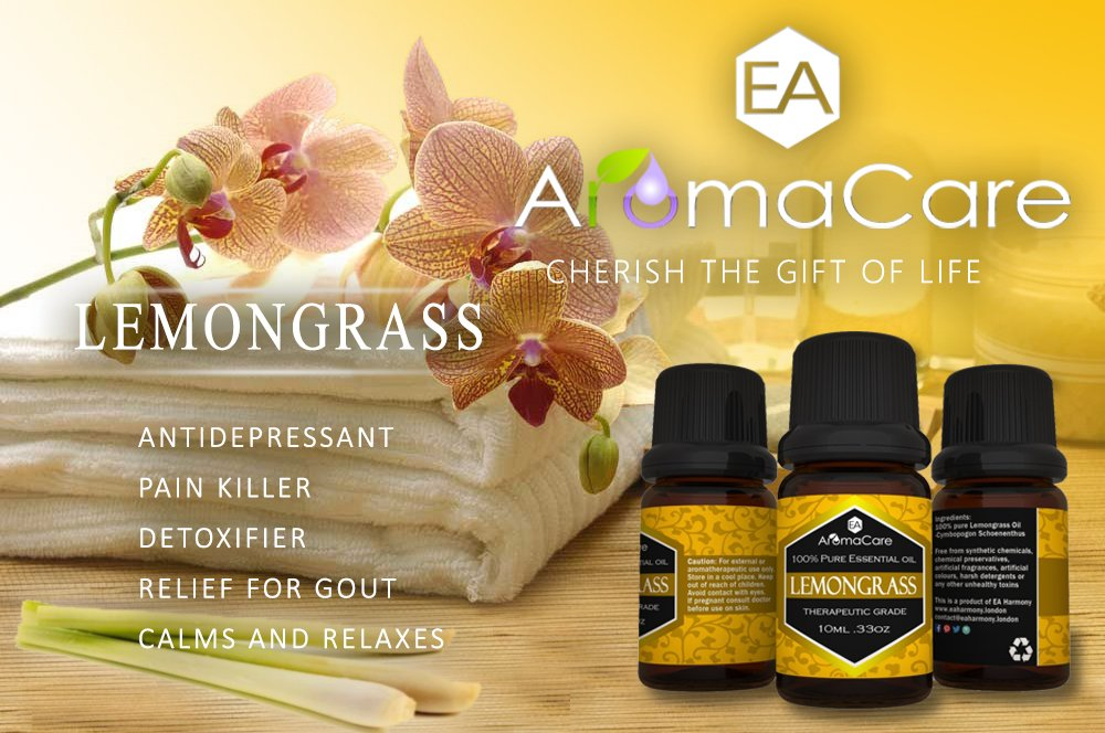 Aromatherapy Essential Oils Gift Set in a EXCLUSIVE WHITE BOX (Lavender, Peppermint, Lemongrass, TeaTree, Eucalyptus, Bergamot) FREE Essential Oil Pendant and ebook by EA AromaCare (Image #5)
