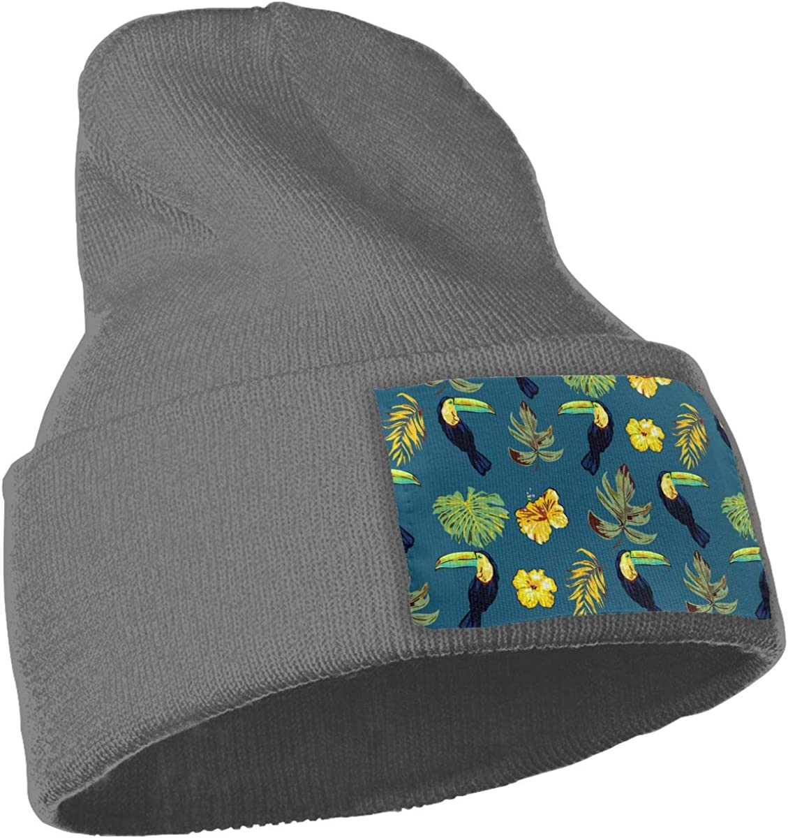 The Plants are On The Parrot Unisex Fashion Knitted Hat Luxury Hip-Hop Cap
