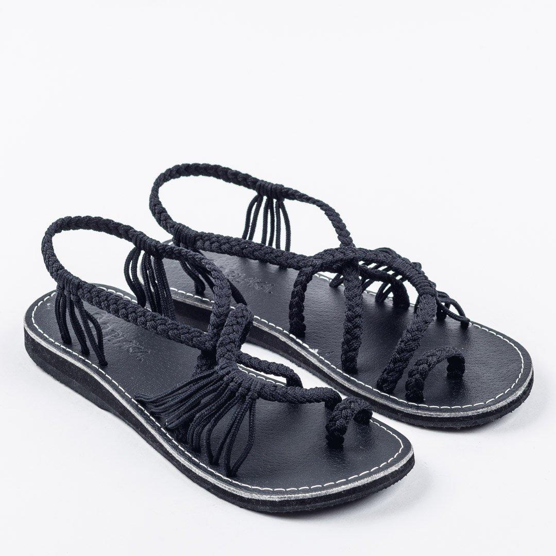 a4ee52aed3a Plaka Flat Sandals for Women Palm Leaf  Amazon.com.au  Fashion