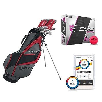 Amazon.com: Wilson - Palos de golf de mano izquierda y ...