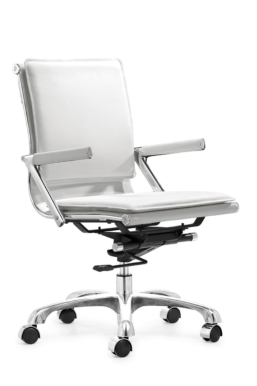 amazoncom zuo modern lider plus office chair white kitchen  - amazoncom zuo modern lider plus office chair white kitchen  dining