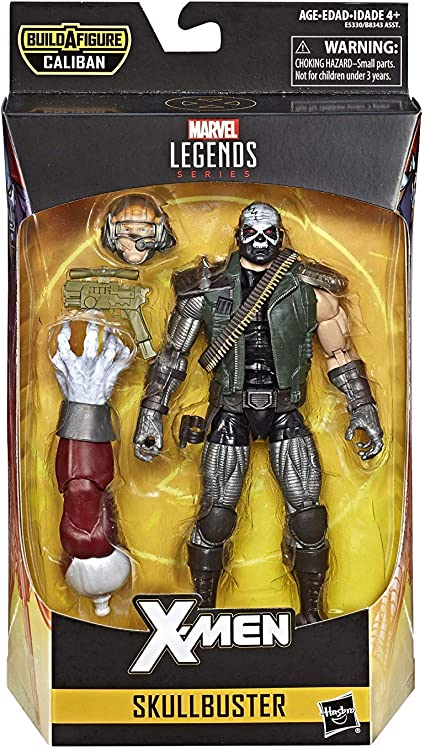 "Marvel Legends X-MEN WEAPON X 6/"" Action Figure BAF Caliban 80th Ann IN STOCK"