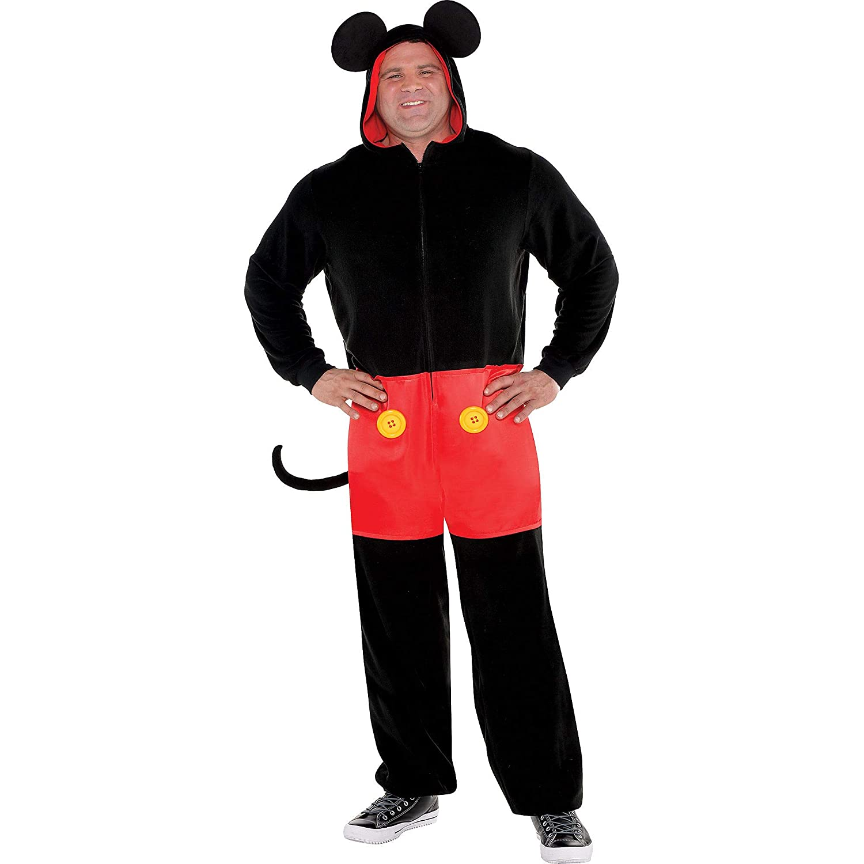 Traje Usted Mismo Zipster Mickey Mouse una Pieza Disfraz de ...