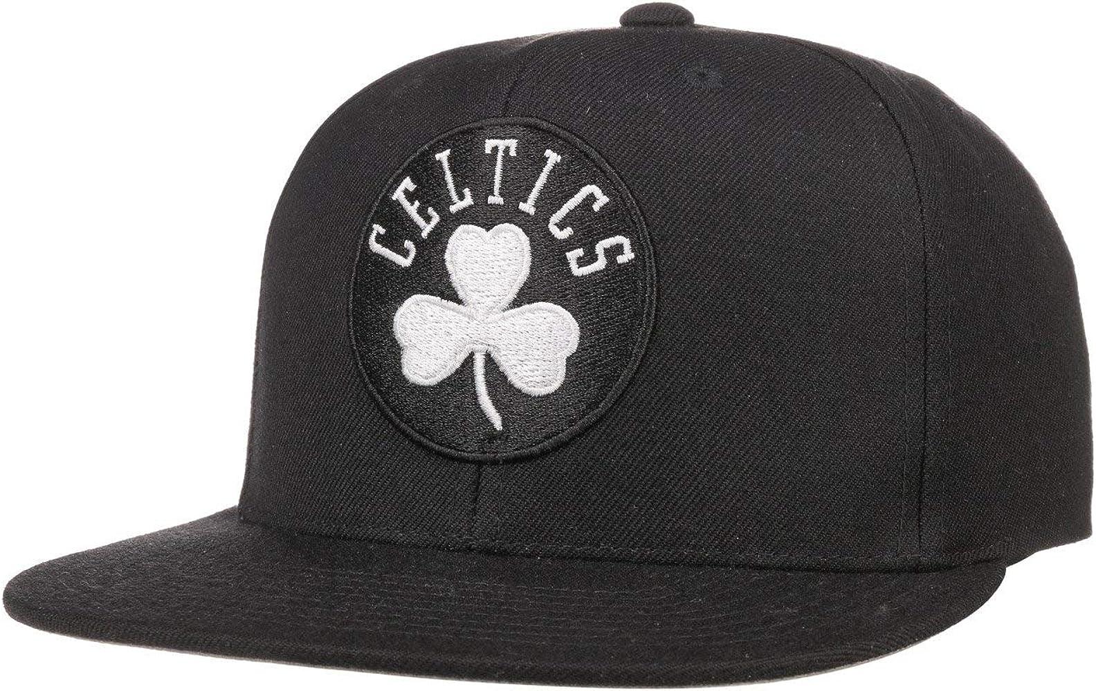 Mitchell & Ness Gorra Wool Solid B&W Celtics by beisbolgorra ...