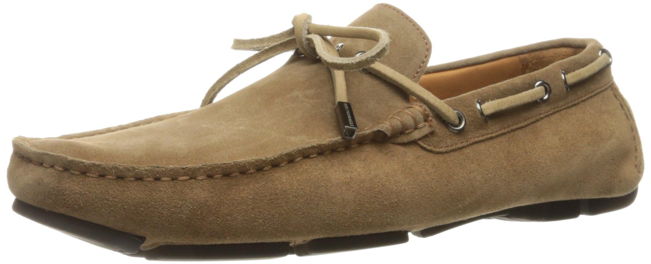 Bruno Magli Men's Morotta Slip-on Loafer, Sand Suede, 10 M US