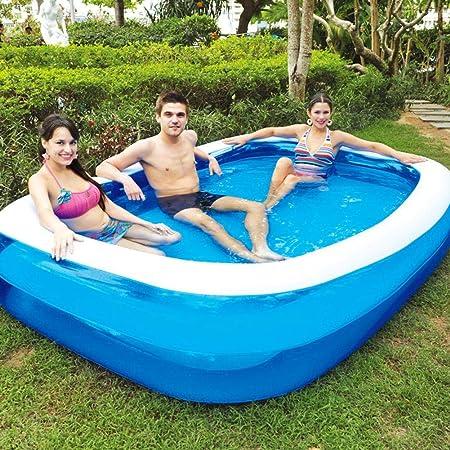 Dedeka Piscina Hinchable,Family Lounge Pool Engrosada Piscina Hinchable Familia Pool,110/128/155/181/200/262/305 cm: Amazon.es: Hogar