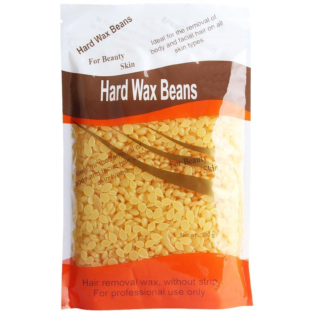 Depilacion corporal Crema depilatoria cera calentador maquina, cera caliente olla + 50 espatula de madera palos + 1 bolsa Pearl Wax Beans: Amazon.es: Salud ...